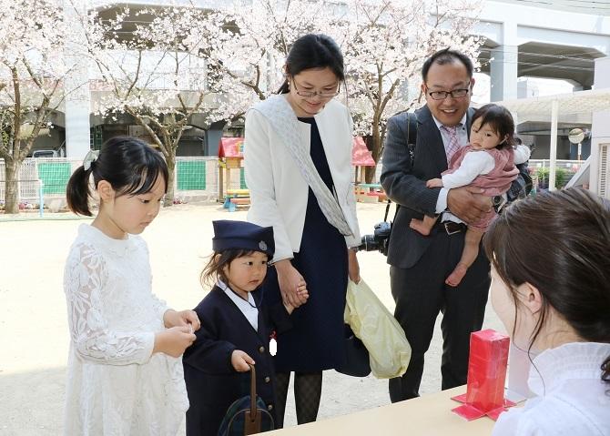4月6日(土) 入園式がありました。
