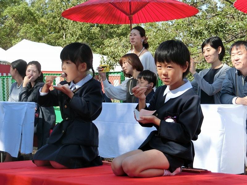 10月21日 堺まつりお茶会に参加しました。(年長組)