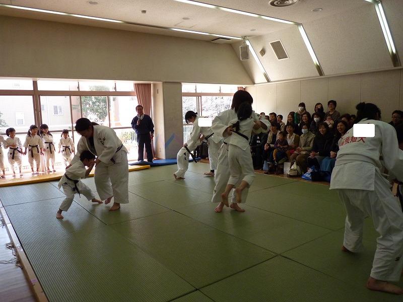 3月13日 柔道参観