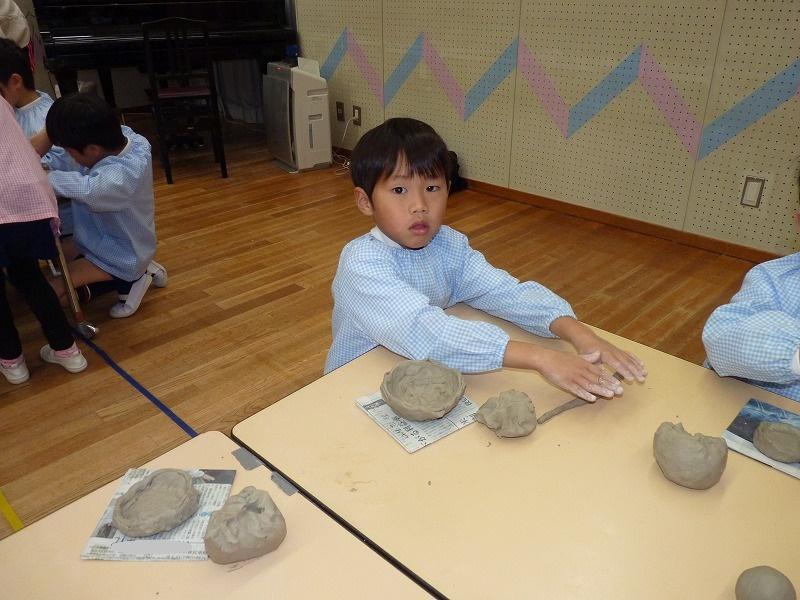 12月17日 作陶をしました。