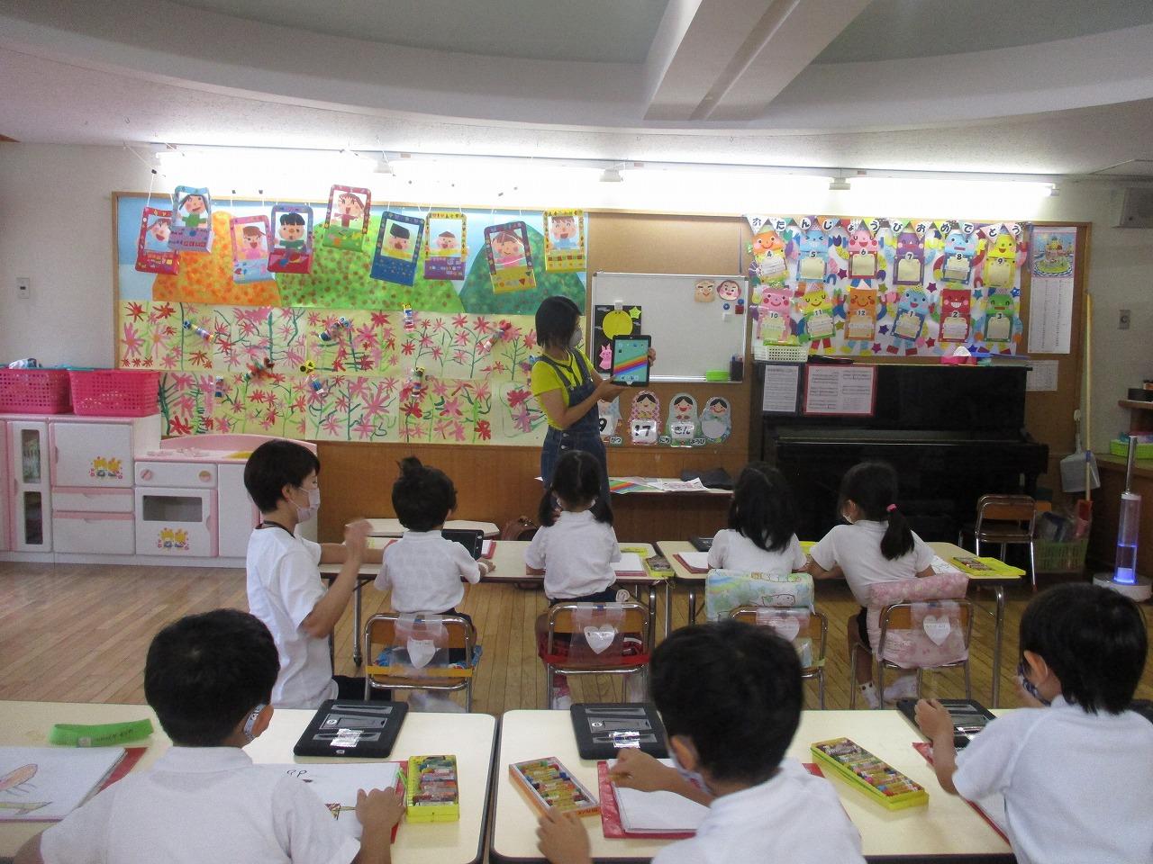9月17日 iPad教室がありました。
