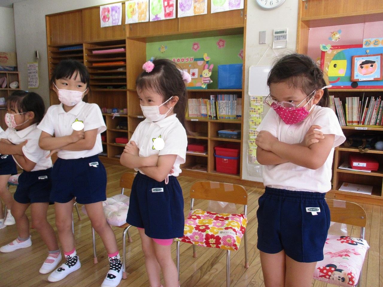 9月21日 英語活動がありました。