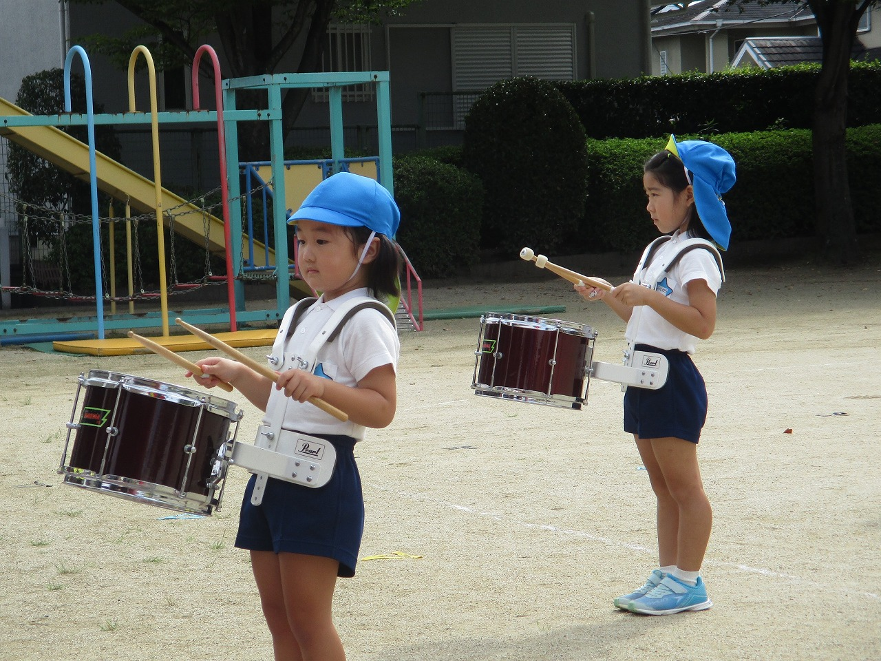 9月28日 運動会の練習頑張ってます!