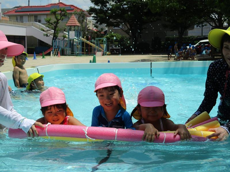7月9日(月) プールあそびが始まりました。