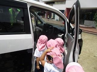 7月16日(金) 交通安全指導がありました。