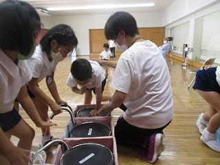 7月20日(火) 奥原先生の音楽指導がありました。