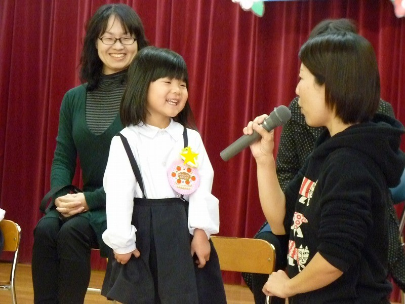 12月14日(木)お誕生日会がありました