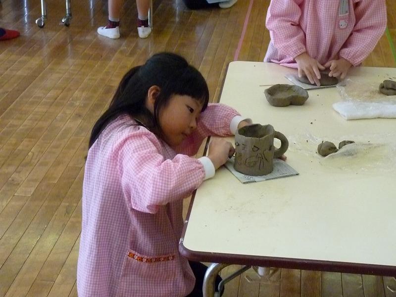 12月19日(火)作陶教室がありました