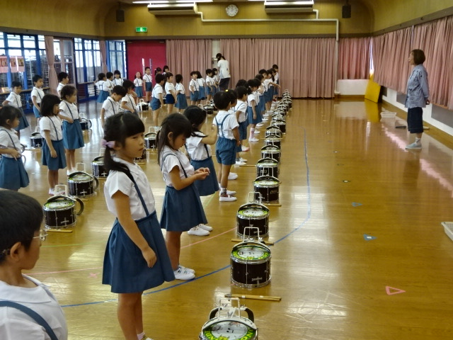 9月10日(月)音楽指導がありました。